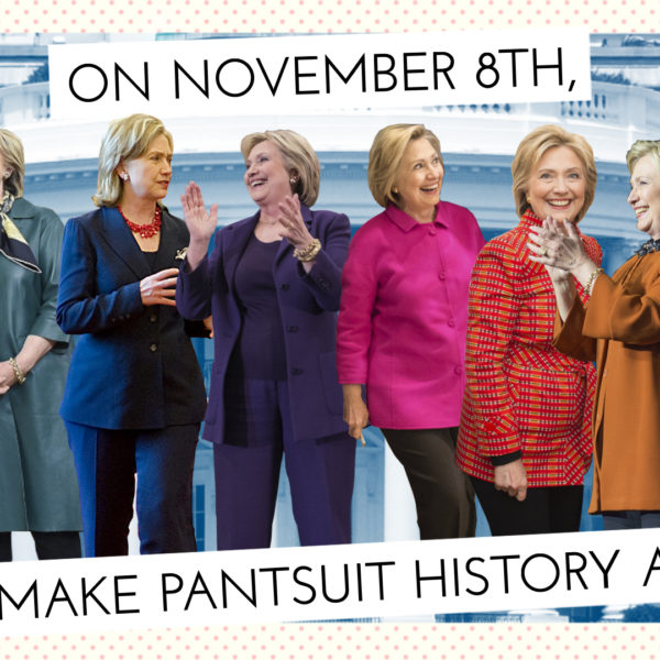 Rise Of The Pantsuit