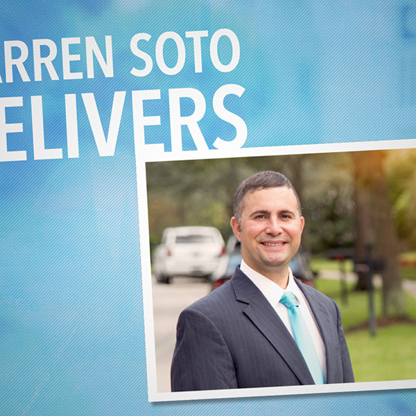 Darren Soto Delivers